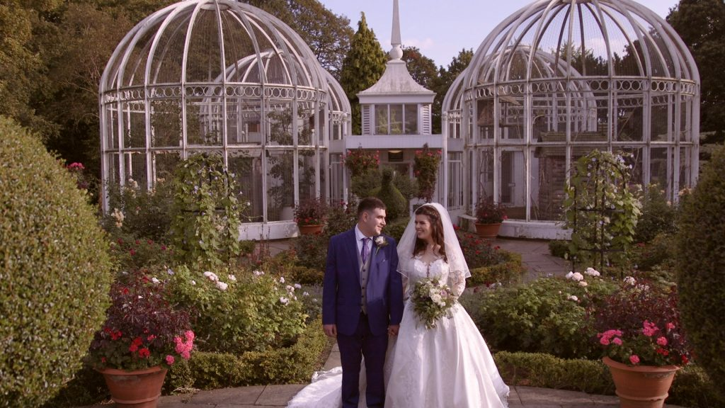 Birmingham Botanical Gardens Wedding Portraits