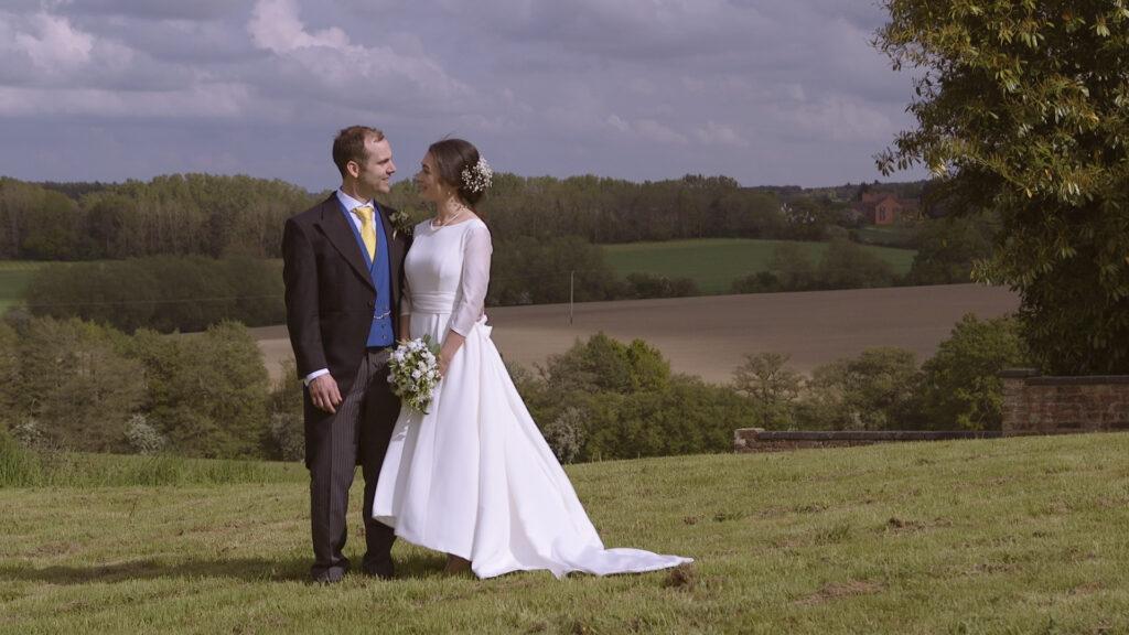 Wedding Portraits in Shropshire