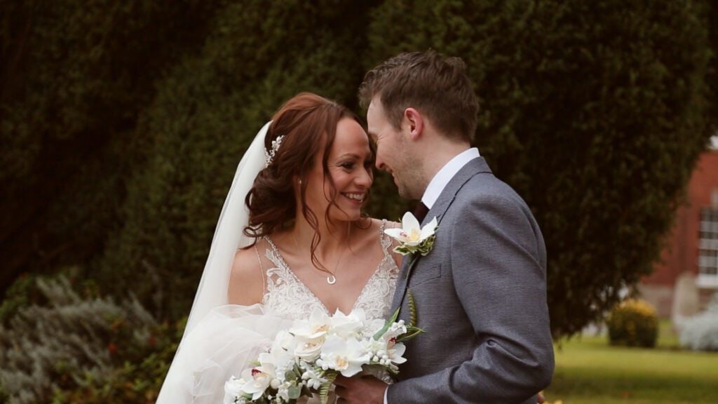 Richard and Heather Wedding Portraits at Mottram Hall