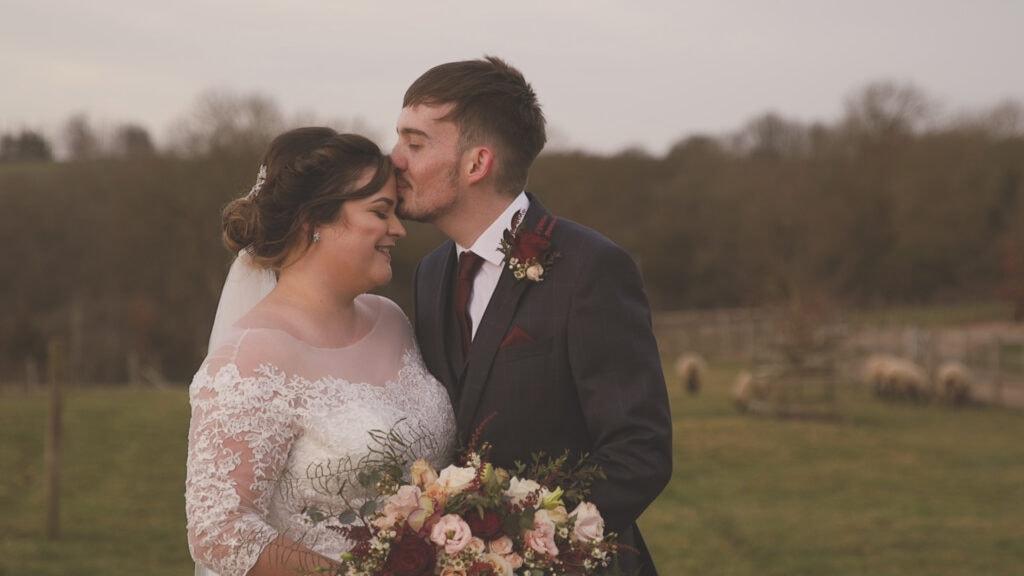 Sam and Fran Wedding Portraits at Dodford Manor